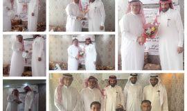 مستشار نادي معن الرياضي الفضل يحتفي بمرشح رابطة فرق احياء الاحساء السبيعي