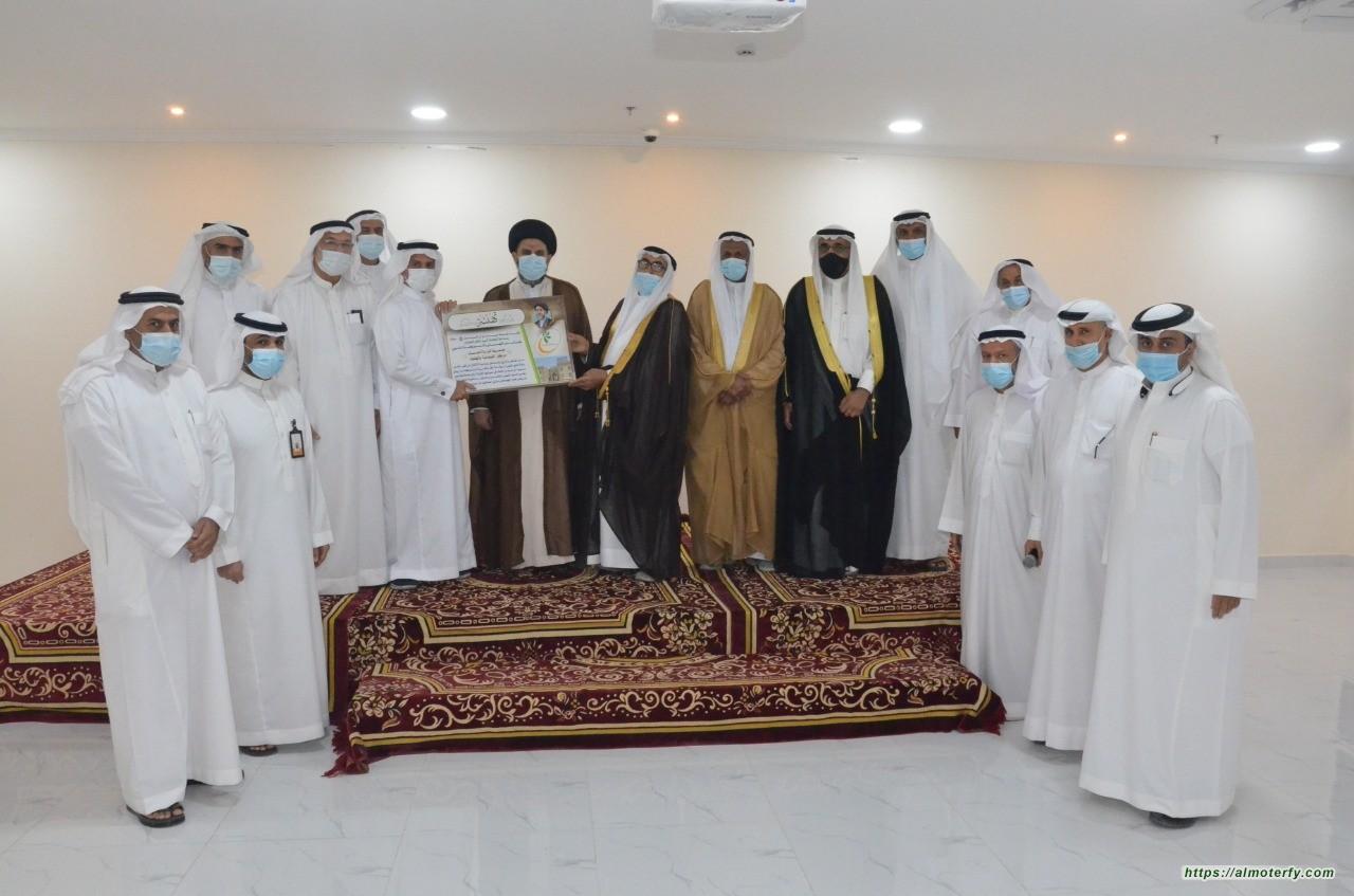 هيئة جامع آل الرسول تهنئ بر الفيصلية بالهفوف بمبناه الجديد