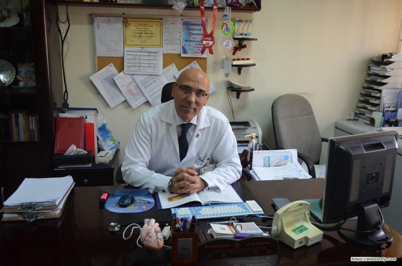 د.حسام رماح استشاري أمراض القلب والأوعية الدموية :  24 ساعة فقط يحتاجها المريض ليعود إلى حالته الطبيعية  بعد إجراء عملية القسطرة