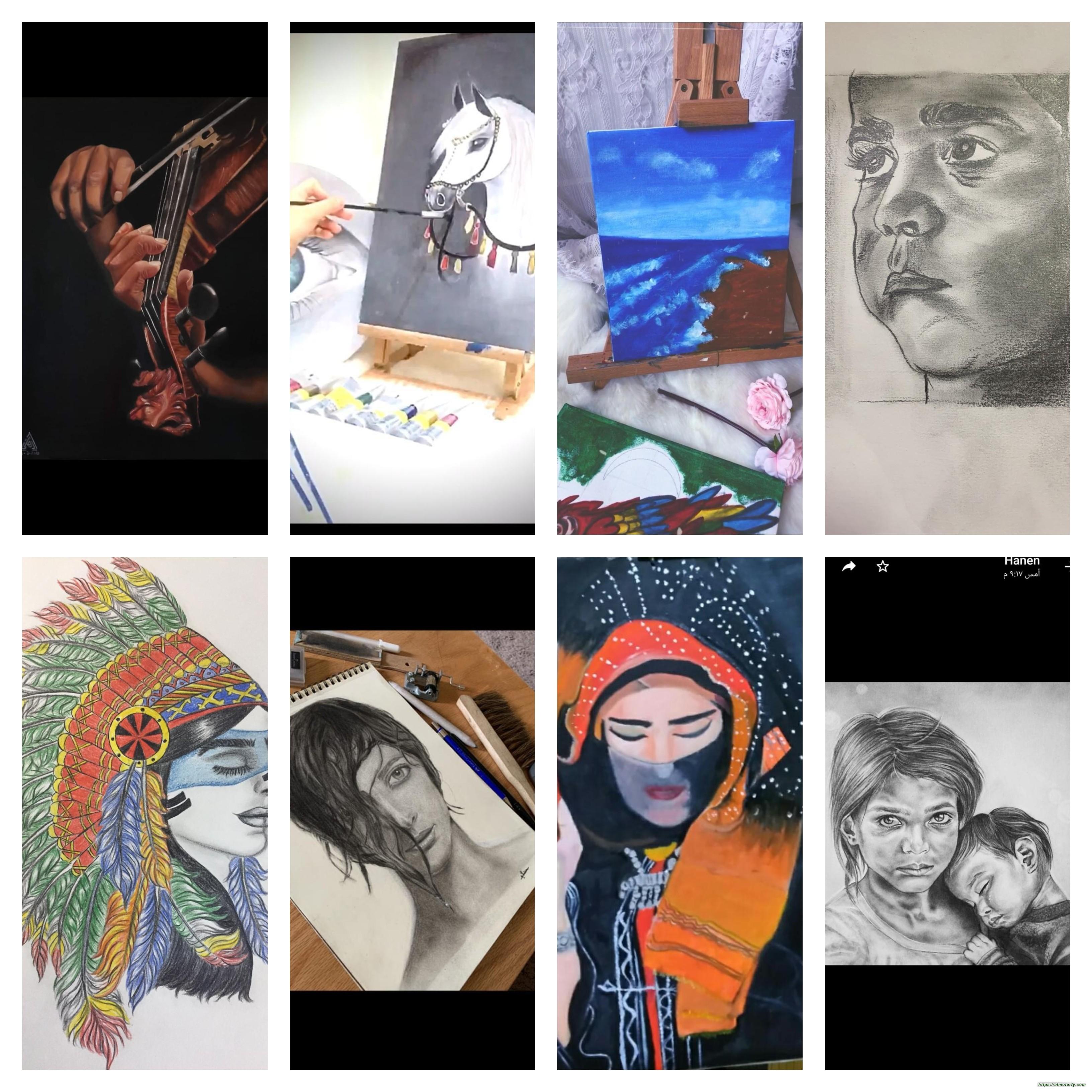 60 فنانة وفنان من فريق همسات الثقافي يعرضون اعمالهم الفنية