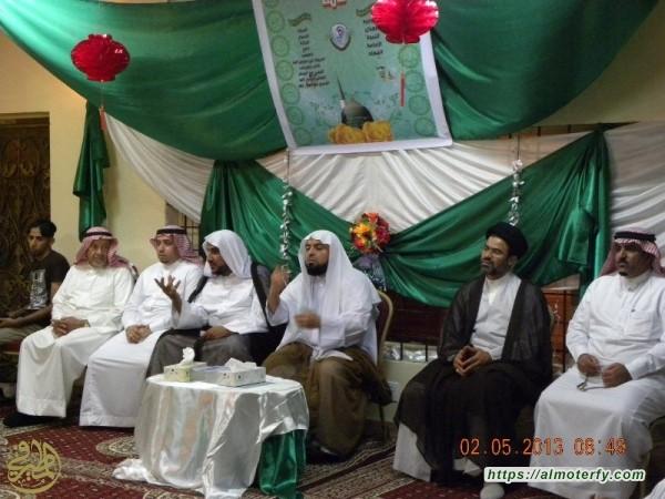 العلامة السيد ابو عدنان الاقتداء والتأسي بأهل البيت وعاقبة العداوة لهم (ع)