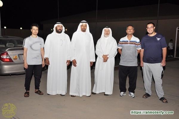 ليلة اللقاء بين ابناء المطيرفي  على شاطئ الخليج في الجبيل الصناعية