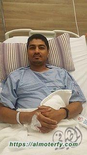 عملية جراحية ناجحة للاعب علي العبدالله