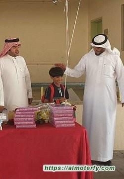 """تكريم الوفاء لأهل العطاء ،،، """" السعادات """" يُكرم معلمية في ابتدائية الخالدية"""