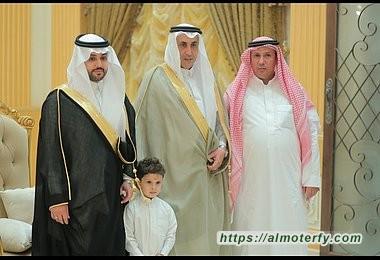 الشيخ عايض السلمي يحتفل بزفاف إبنه رامي