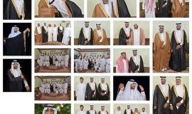 """عائلة العايش بالمطيرفي تحتفل بزفاف ابنها """"عبدالهادي """"تهانينا"""