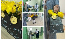 فتيات دار تربية الاحساء يقدمن السعاده في مستشفى الملك فيصل بالاحساء