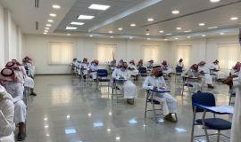 وسط تطبيق للإجراءات الاحترازية .. بدء الاختبارات النهائية بجامعة الامام عبدالرحمن بن فيصل