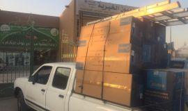 العيون الخيرية تقدم 27 جهاز كهربائي للمستفيدين بتكلفة تتخطى الـ 50 ألف ريال