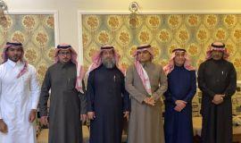 إدارة الحسابات بميناء الملك عبدالعزيزبالدمام تكرم المتقاعدين
