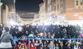 34 ألف زائر يشهدون مهرجان ( أيام الحب ) في الدمام وفود حكومية وخاصة تزور المهرجان.. وإشادة كبيرة بفعالياته