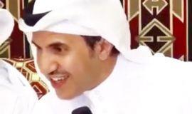 الشاعر عبدالله بن جلسه يبحر شعراً ويقول : صبّو من النور كاسه في عيون الظلام