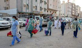 عمليات التقصي الميداني  تكشف عن عدد من الحالات المصابة في أحياء مكة