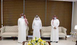 """""""مشاط"""" يلتقي برئيس اللجنة الوطنية لأنشطة الحج والعمرة والزيارة"""