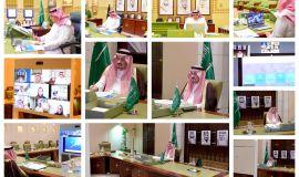 سمو أمير منطقة الرياض يجتمع مع وزير السياحة