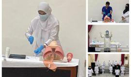 تدريب 356 طبيباً وممرضاً للتعامل مع الحالات الحرجة لفيروس كورونا المستجد (COVID-19) بحفر الباطن
