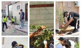 فريق رواد الأحساء يشارك في مبادرة الاحساء تغرس 2020
