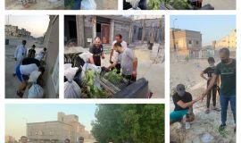 فريق علو التطوعي يشارك في مبادرة الأحساء تغرس