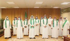 عمادة الدراسات العليا بجامعة الإمام تحتفل باليوم الوطني 90
