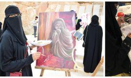 الفنانة المحارف همسات هوانطلاقتي في عالم الفن والشهرة