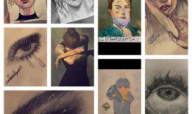 فنانة همسات التشكيلية زينب الشايب هدفي إبراز موهبتي للمجتمع