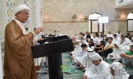 الشيخ اليوسف يدعو إلى مراجعة الأفكار وتطهير القلب من الأحقاد قبل شهر رمضان