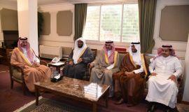 محافظ الأحساء يستقبل رئيس وأعضاء المجلس البلدي وأعضاء برنامج أصدقاء المجلس البلدي