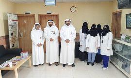 مستشفى مدينة العيون يحتفي بفريق العمل لحملة سرطان الثدي 2019