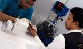 مستشفى مدينة العيون يختم مشاركته بالملتقى الثاني للفرق التطوعية 490 زائر