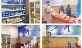 تدشين قسم الأطراف الصناعية في مستشفى الملك فهد في المدينة المنورة .