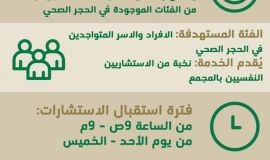 """""""صحة الرياض"""" تطلق مبادرة الدعم النفسي لنزلاء المحاجر الصحية"""