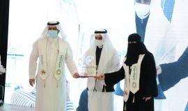 جامعة الإمام عبد الرحمن بن فيصل تحقق المركز الأول ضمن أكثر الجهات الحكومية تفاعلاً وتسجيلاً بمنصة العمل التطوعي