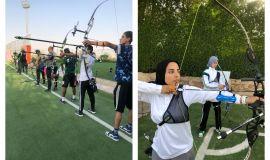 المجمع الأولمبي يجهز رماة الأخضر