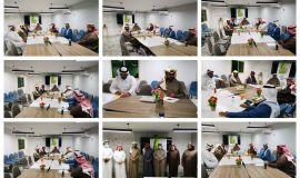 مجلس الإعلام الرياضي في هيئة الصحفيين السعوديين بالأحساء يعقد إجتماعه الأول لدراسة برامجه للعام القادم
