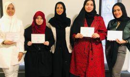 طالبات سعوديات يحققون جائزة أفضل بحث في مؤتمر عالمي للأزياء ببرشلونة