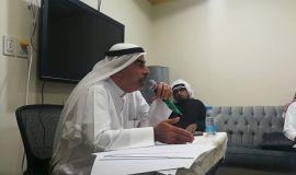 الأستاذ علي الوباري يتألق في فعالية (رأس المال الاجتماعي ودوره في المجتمع)