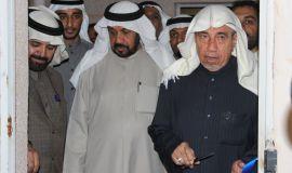 (افتتاح متحف سيد هاشم ابن المرحوم السيد حسين العلي آل سلمان) في حي النزهه بمدينة المبرز