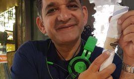 حسين ملاك حساوي في الغبار