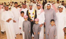 """التمار والعبدالعزيز تحتفي بعريسهما """" محمد """""""
